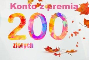 Konto Jakże Osobiste z premią 200 zł