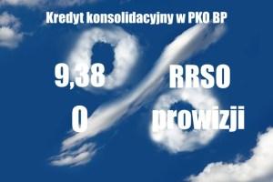 Pożyczka konsolidacyjna w banku PKO BP