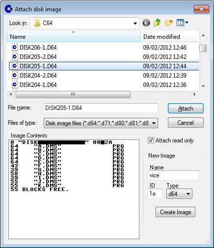dms file listing