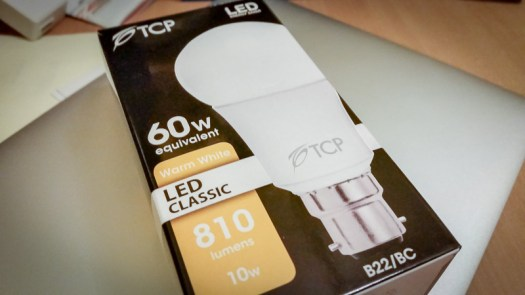 TCP LED 10w BC GLS Light Bulb