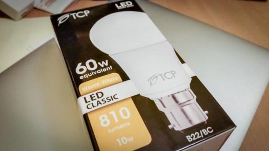 TCP LED 10w BC GLS Light Bulb