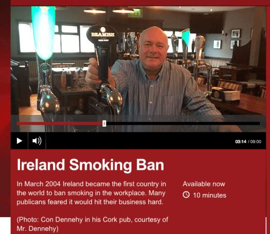 The Irish Smoking Ban