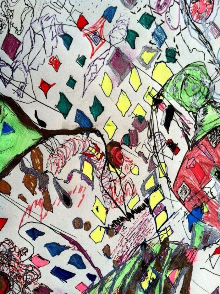 Paper Confetti © Allison Goldin