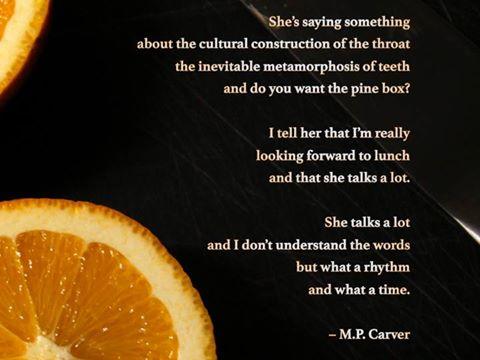 Poem © M.P. Carver
