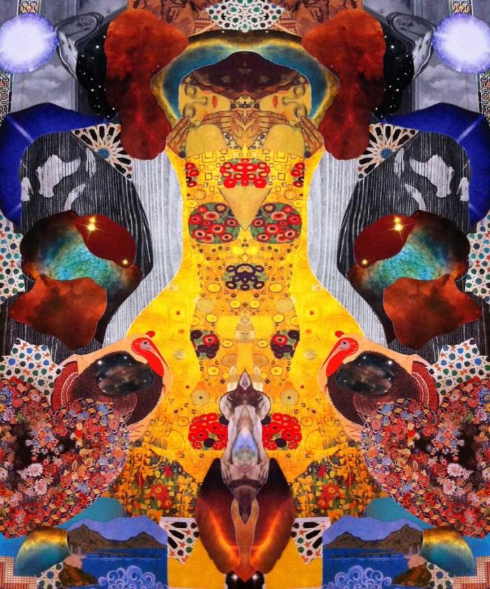 """""""Kiss Mandala"""" © Tybie Meir"""
