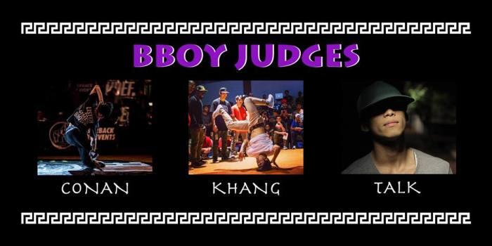 Bboy Judges