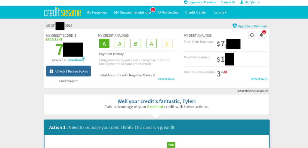 Get Your Credit Score and Credit Report from Credit Sesame for Free