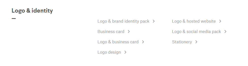 99Designs logo and brand designs