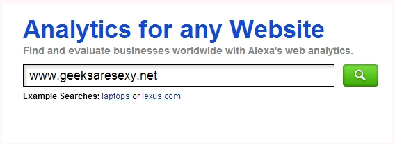 Image Alexa homepage