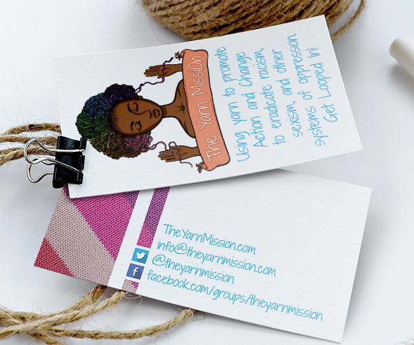 The Yarn Mission Business Cards