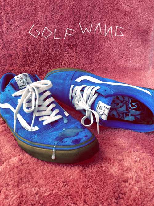 7ba7e82023 At last we get some new information regarding the release of the  long-awaited Golf Wang Vans. The limited edition shoes will be available at  the Odd Future ...