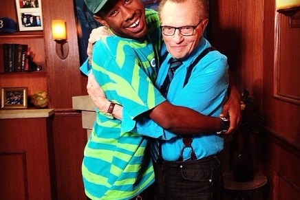Tyler, the Creator Interviewed on Larry King Now