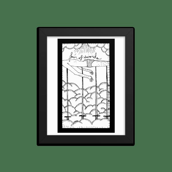 Four of Swords – Rest, Meditation/Exhaustion