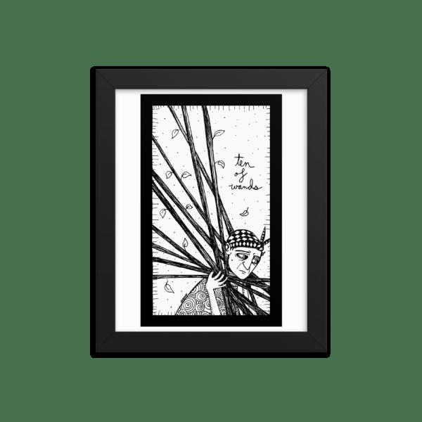 Ten of Wands – Hard Work/Burden
