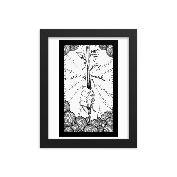 Ace of Wands – Inspiration, Growth/Lack of Ideas