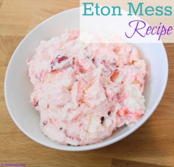 Eton Mess is our favourite summer dessert. It is quick and easy to make, simple to do with kids and takes no time at all http://oddhogg.com