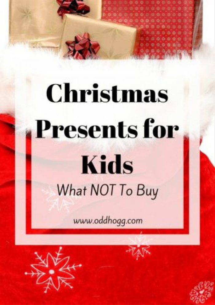 Best of the Worst - The Christmas Present NOT To Buy | Have you ever wondered whether the present you have bought a child was really appreciated? Did you questions whether it was suitable? Annoying? Terrifying? I've got the answers! http://oddhogg.com