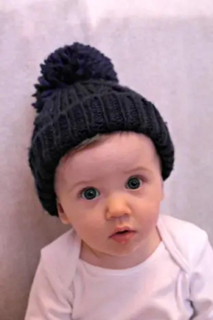 Piglet 9 Months Update | Bobble Hat http://oddhogg.com