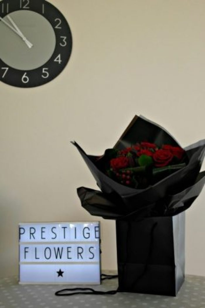 Prestige Flowers Review | Flowers in Bag http://oddhogg.com