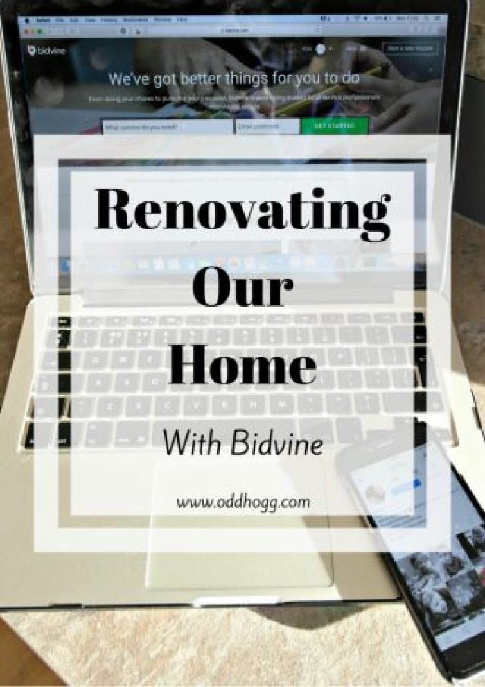 Renovating Our Home With Bidvine   When you're having work down on your house you can spend hours searching for the right workmen for the job. We used bidvine to hire a decorator - check out how we got on http://oddhogg.com