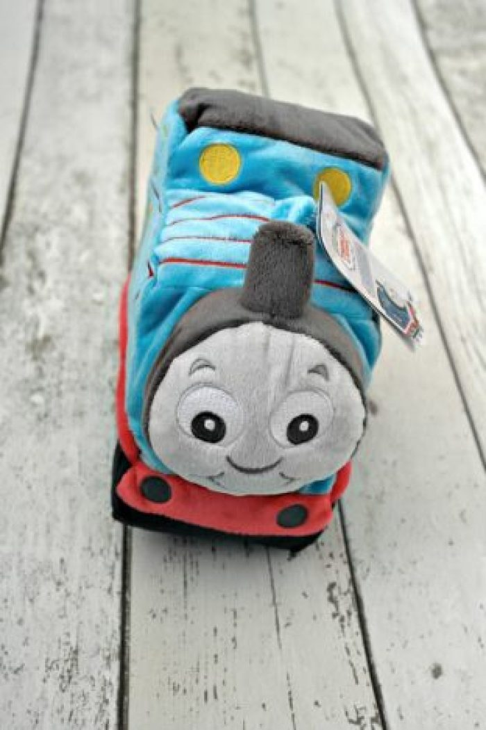 My First Thomas Comforter and Toy Review | Thomas Plush Toy http://oddhogg.com