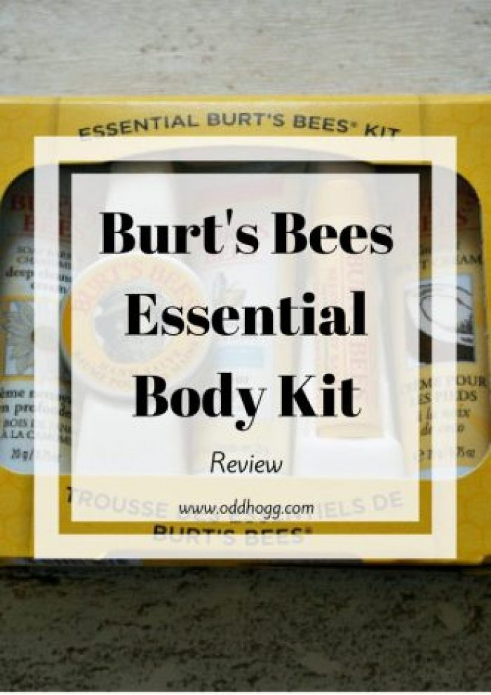 Burts Bees Essential Body Kit Review | Trying out natural body products made with beeswax. Perfect for busy mums who want a quick skincare routine http://oddhogg.com