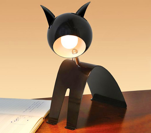 Cat Shaped Desk Lamp