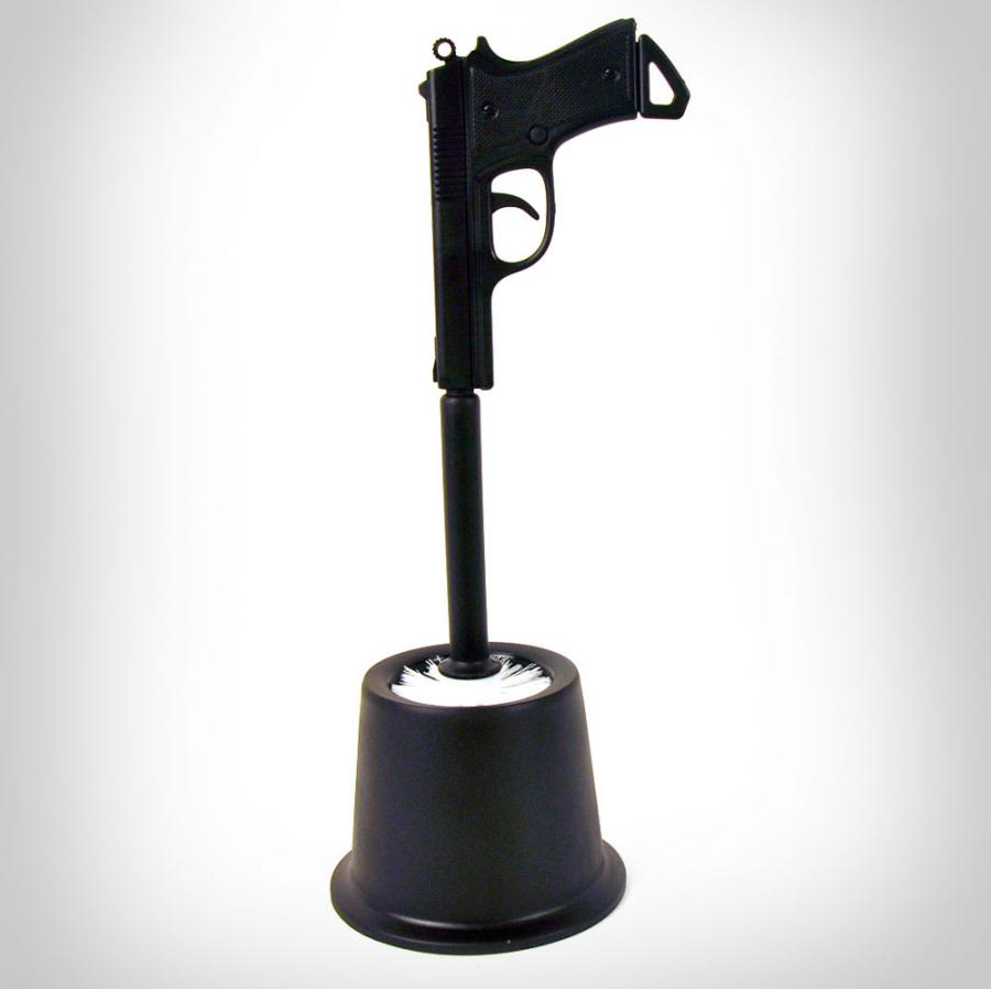 Gun Toilet Brush
