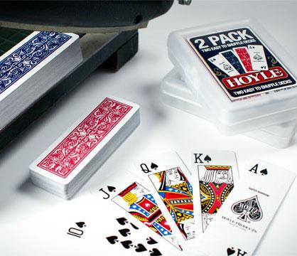 Hoyle Slice Half Deck Skinny Playing Cards