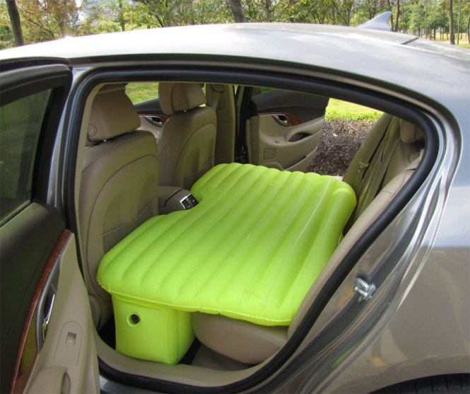 The Backseat Car Bed Is An Inflatable Mattress That You Can Fit Perfectly Into Back Seat Of Your And Sleep Comfortably Instead Sleeping On