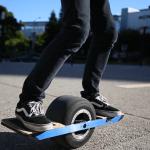 今年は四輪の自動車よりも一輪車(OneWheel)がトレンドだ