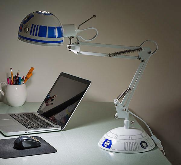 Star Wars R2 D2 Desk Lamp