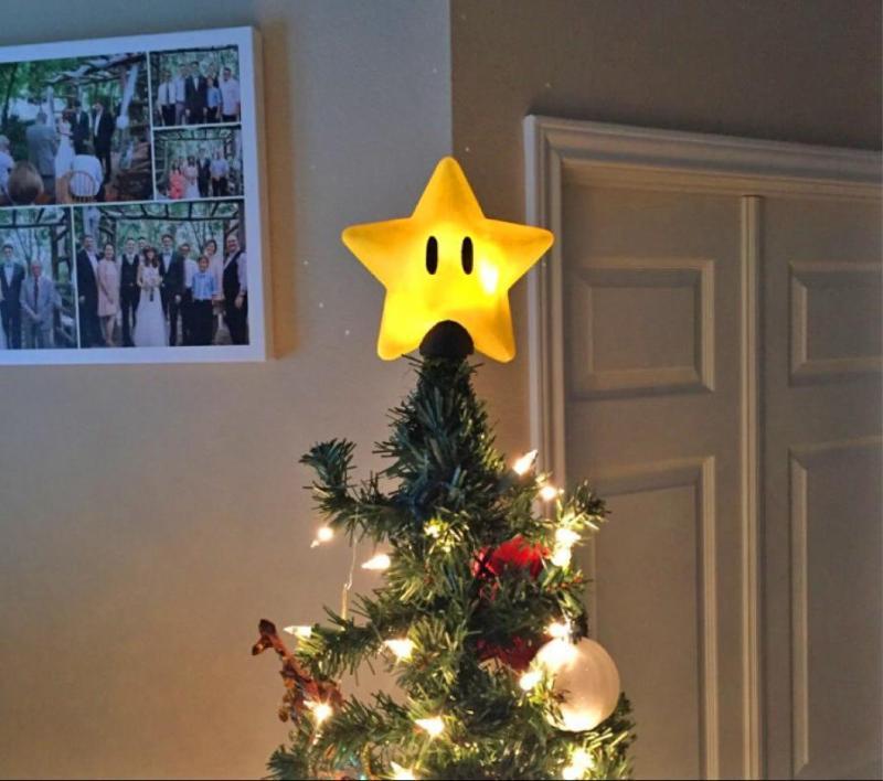 Super Mario Christmas Decorations
