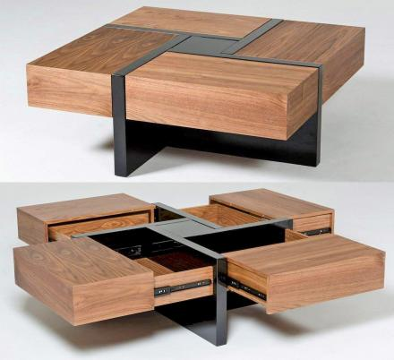 this beautiful wooden coffee table has
