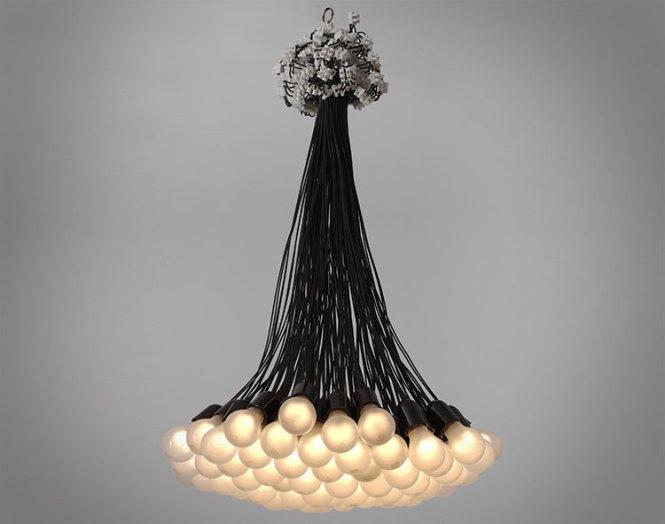 85 Light Bulb Chandelier