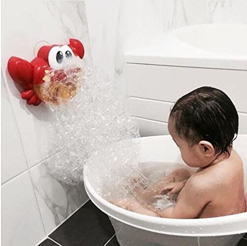 Crab Bubble Machine Bath Toy