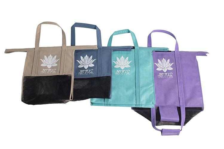 Lotus Trolley Bags Reusable And Expandable Grocery Cart Bags