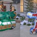 You Can Now Get An Inflatable Station Wagon From Christmas Vacation For Your Yard