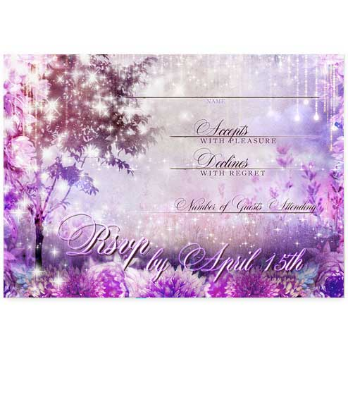 Purple Themed Wedding Invitation Archives Odd Lot Paperie