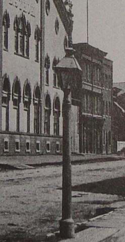 Old Detroit -  Gas Street Light on Gratiot