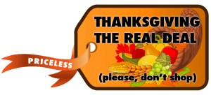 Thanksgiving Real Deal