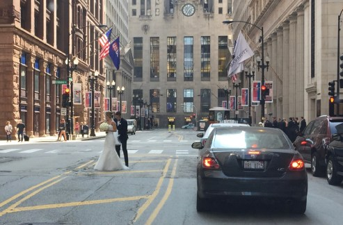 Bride Downtown Chicago, Better Breakfast Day, Johnny Appleseed Day