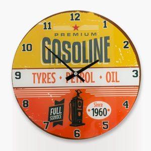Gasoline-Seinäkello-1