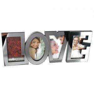 LOVE-Romanttinen-Valokuva-Kehys-Hopea-1