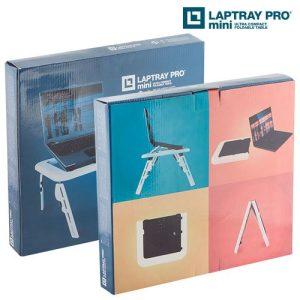 Laptray-Pro-Mini-Kannettavan-Tietokoneen-Pöytä-Tuulettimella-1