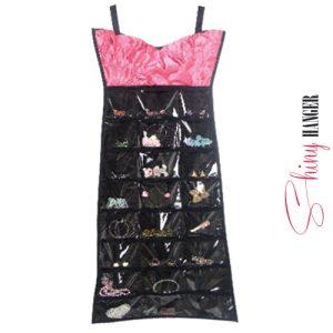 Shiny-Pink-Dress-Hanger-Koru-Järjestäjä-1