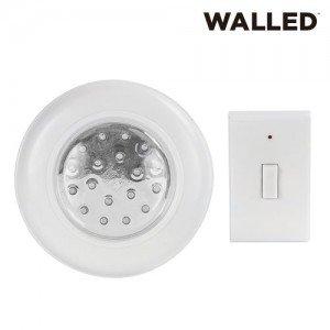 WalLED-LED-Upotettu-Valaisin-Kaukosäätimellä-1