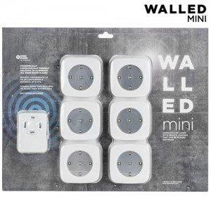 WalLED-Mini-LED-Lamput-Kaukosäätimellä-6-kpl-pakkaus-1