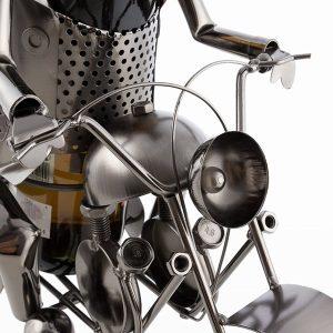 Biker-by-Homania-Metallinen-Viinipulloteline-1