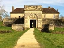 The main gatehouse